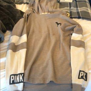 Tops - Gray, pink sweatshirt